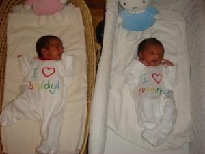 Twins Have Arrrived