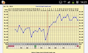 Fertility Charting Cycle