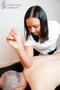 Deep Tissue Massage - Elbowing Scapula