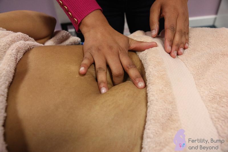 Fertility Massage - stimulating the Conception Vessel