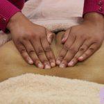 Fertility Massage - warmin up the sacrum